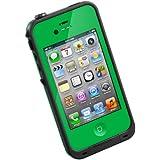 【日本正規代理店品】iPhone4/4S用防水防塵耐衝撃ケース LifeProof Gen2 グリーン LPIPH4CS02GN