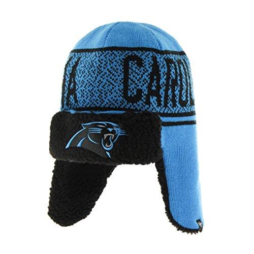 NFL Carolina Panthers '47 Asteroid Sherpa Knit Beanie, Glacier Blue, One Size