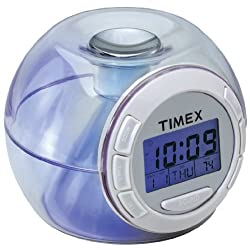 Timex T035W Color Changing Alarm Clock with Nature Sounds