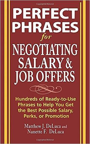 job offer negotiating salary