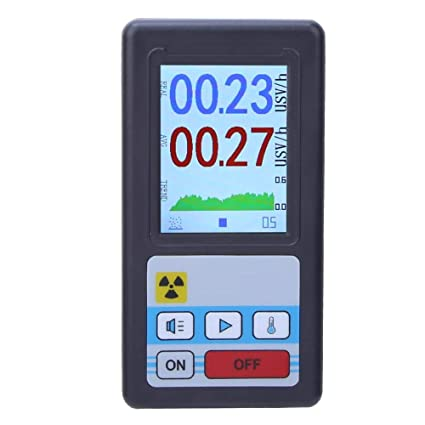pers/önliches Dosimeter Marmordetektor Messger/ät Tragbares Dosimeter Beta-Gamma-R/öntgentester radioaktiver Detektor Geigerz/ähler-Kernstrahlungsdetektor