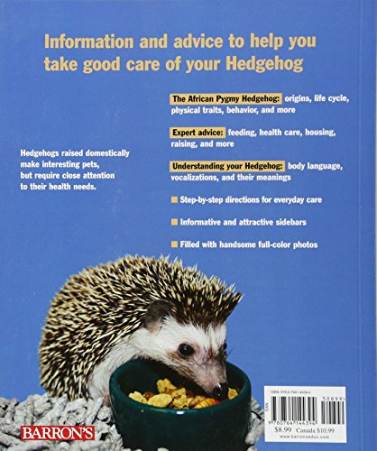 Hedgehogs (Complete Pet Owner's Manuals) 2