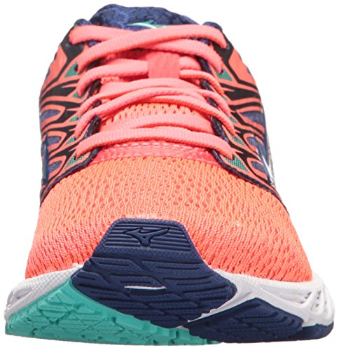 Zapatillas De Running Mizuno Running Para Hombre Wave Shadow Fiery Coral / Blanco
