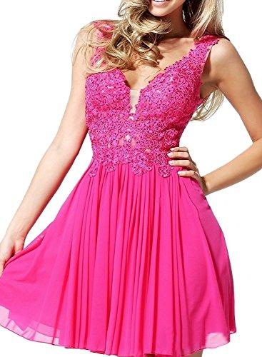 Pink Cocktailkleider Marie Kurz Mini Navy Ausschnitt La Herrlich Braut Partykleider Abendkleider V Blau Spitze ZRwn6Oqgn