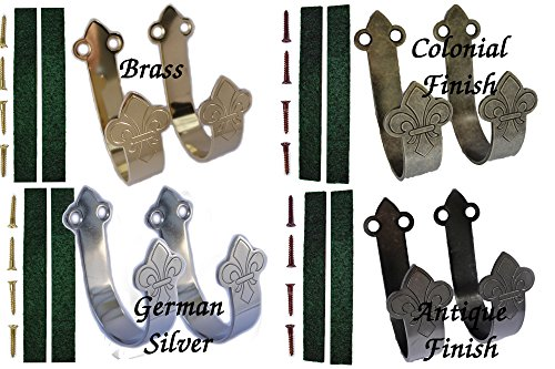 Colonial Finish - DCT TDC Gun Hangers (Colonial Finish Set/with felt)