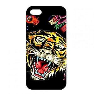 Retro Style Ed Hardy Phone Custodia iPhone 5/ iPhone 5s Phone Custodia Personalized Design Custodia Cover