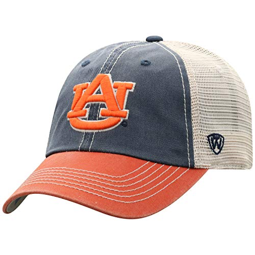 Top of the World Auburn Tigers Men's Mesh-Back Hat Icon, Navy, Adjustable