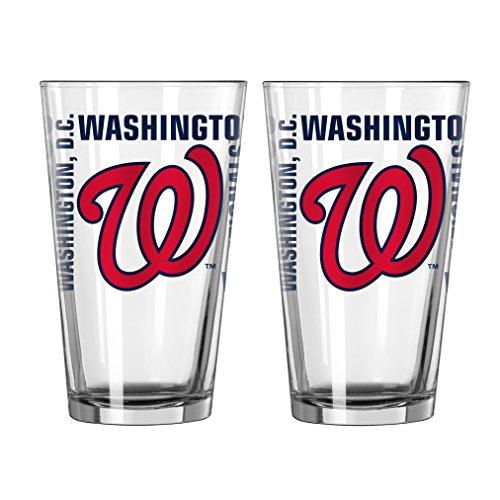 MLB Washington Nationals Spirit Pint, 16-ounce, 2-Pack