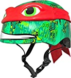 Teenage Mutant Ninja Turtle Raphael Comic Helmet, Red, Ages 5+
