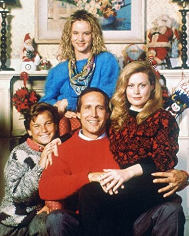 Johnny Galecki Christmas Vacation.Chevy Chase And Beverly D Angelo And Juliette Lewis And