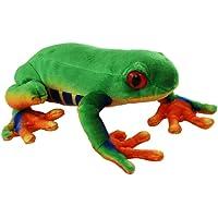 Elka Australia 2899-23 Green Tree Frog Soft Plush Toy, 23 cm