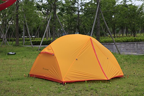 STAR HOME Camping Tent Lightweight Waterproof Backpacking Tents Hiking 2 Person Tents 3 Size by STAR HOME (Image #4)