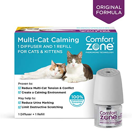 - Comfort Zone Basic Calming Diffuser Kit for Cat Calming, Single Diffuser