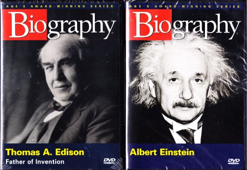 (Biography Albert Einstein , Biography Thomas Edison : From the Atomic Bomb and the Theory of Relativity to the Invention of the Light Bulb and Phonograph : 2 Pack Collection)
