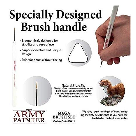 Amazon.com: The Army Painter - Juego de 10 pinceles en ...