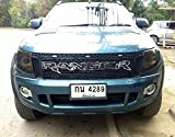 Chrome Raptor Front Grill Grille Awesome Black Lit Ford Ranger T6 Xlt Px Wildtrak Ute 12 13 14 Pick Up