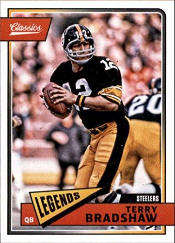 170e8bc28 2018 Classics Football  178 Terry Bradshaw Pittsburgh Steelers Legend  Panini NFL Card