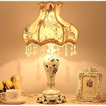 Amazon Com 22 Quot H Laced Jewel Victorian Style Table Lamp