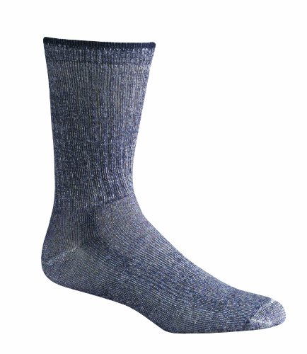 Fox River Outdoor Trailmaster All Weather Hiking Socks, CHARCOAL, ()