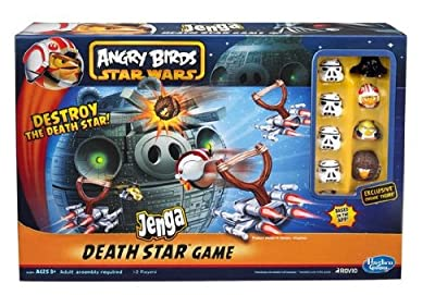 Game / Play Angry Birds Star Wars Fighter Pods Jenga Death Star, star, game, angry, bird, star, wars Toy / Child / Kid