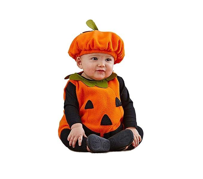 Bebé Recién Nacido Halloween Lindo y Acogedor Juego de Vestir de ...