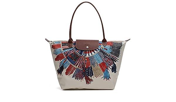 35d9661dcc39 Longchamp Le Pliage Limited 1899 576 556 MIAOU Hand Bag  Handbags   Amazon.com