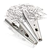 24Pcs 51mm Metal Alligator Clip Spring Clamps
