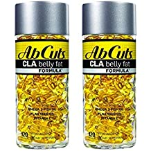 Ab Cuts CLA Belly Fat Burner Formula, 240 Softgels (2 Pack of 120)