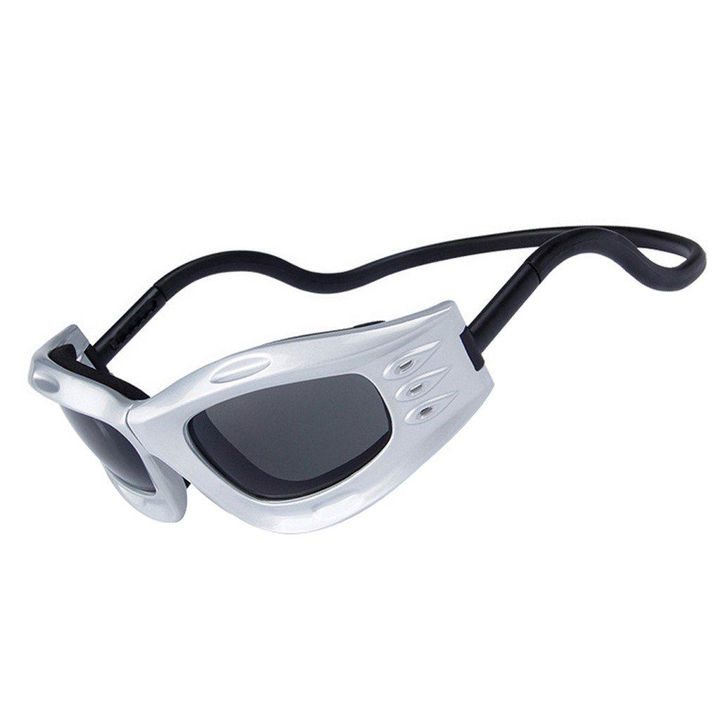 OBAOLAY Outdoor Brille Magnetischer Magnetischer Brille Schnalle gegen Wind staubdicht Schutzbrille Sonnenbrille 006354