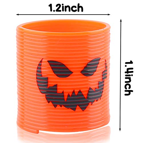 Johouse Magic Springs, 40PCS Plastic Spring Toy Party Supplies for Halloween Trick or Treat, Classroom, Party Favors