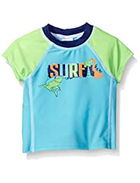 Swim Time baby-boys Baby Surf Colorblock Rashguard