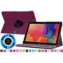 Moko Samsung Galaxy Note PRO & Tab PRO 12.2 Case - 360 Degree Rotating Cover Case for Galaxy NotePRO (SM-P9000) & TabPRO (SM-T900 / T905) 12.2 Android Tablet, PURPLE