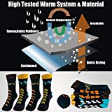 Time May Tell Mens Hiking Socks Moisture Wicking