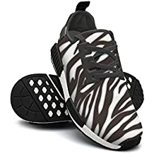 NAFG59Q Women's Athletic Running Shoes Fashion Sneakers Fitness Shoes Soft Sole Lightweight Breathable Zebra Stripes Casual Walking Sneakers