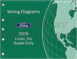 2016 Ford F-650 and F-750 Super Duty Truck Wiring Diagram Manual Original:  Ford: Amazon.com: BooksAmazon.com