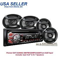 Pioneer DXT-X2669UI AM/FM/CD/MP3/USB/AUX IN-PUT, 200 WATTS
