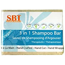 3 in 1 Shampoo Bar - Multipurpose Healing Soap for Hair, Face, & Body - Heals Problematic Scalp Concerns - 110+ grams