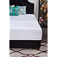 Oliver Smith - Natural Organic - Cooling Gel Ventilated Medium Firm Memory Sleep 10-Inch Memory Foam Luxury Mattress GreenFoam Certified - King
