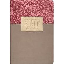 Everyday Matters Bible For Women, Rose Flora/Khaki