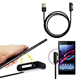 YYGIFT Metal Magnetic USB Charging Cable for Sony