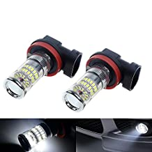 NEVERLAND H8 LED Fog Bulb Daytime Lights Car DRL Driving Lamp 3014 SMD 48W 6000K White