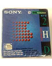 """Sony 2HD 3.5"""" IBM Formatted Floppy Disks (10-Pack)"""