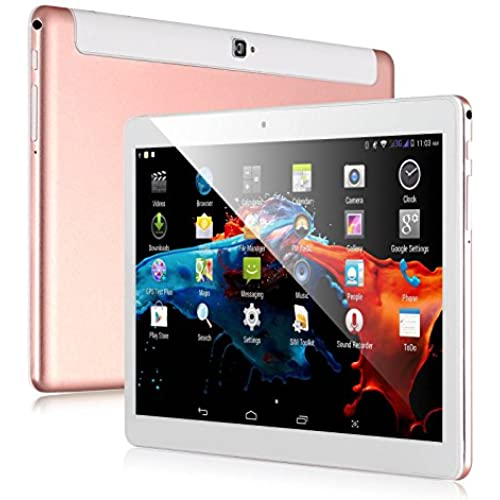 Xgody KT096H 9.6 inch 3G Phablet Android Quad Core 1GB+16GB Dual Cam IPS GPS GSM Tablet PC (rose gold) Coupons