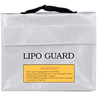 Portable Battery Explosion-proof Bag - Silver