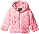 Ok Kids! Baby Girls' Heart Quilt Jacket with Faux
