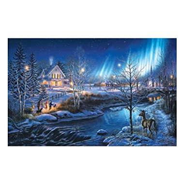 All is Bright a 1000-Piece Jigsaw Puzzle by Sunsout Inc.