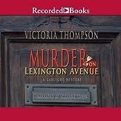 Murder on Lexington Avenue: A Gaslight Mystery | Victoria Thompson