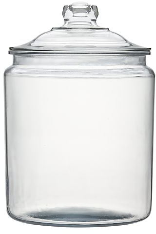 Heritage Hill 256 oz. Glass Jar with Lid in Food Storage | Crate and Barrel