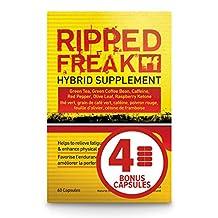 Ripped Freak (64 Capsule Bonus Size) | Hybrid Weight Loss Supplement | PharmaFreak