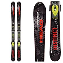 2016 Head Power INSTINCT SW Ti 170cm Men's Ski w/ PRX 12 S Bindings